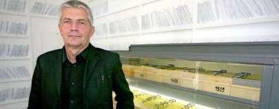Roland Jahn, Chef der Stasiunterlagenbehörde. Foto: dpa
