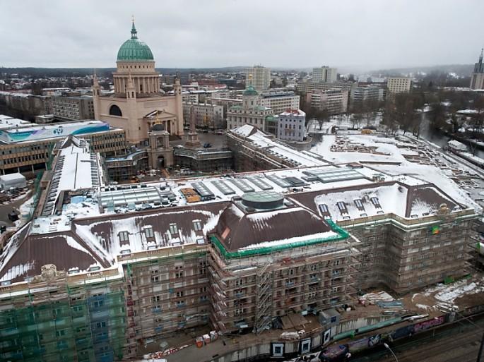 Landtagsschloss ohne Kuppel         Foto:dapd