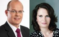 Danny Eichelbaum und Dr. Saskia Ludwig ( beide CDU)