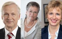Dieter Dombowski, Ulrike Poppe, Martina Münch