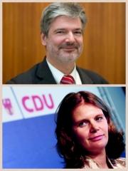 Ralf Holzschuher (SPD), Dr. Saskia Ludwig (CDU)