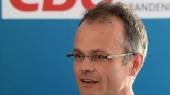 Michael Schierack (CDU). Schierack blickt der Wahl optimistisch entgegen. Foto: Ralf Hirschberger/Archiv (Quelle: dpa)