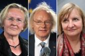 Sie unterstützen den Aufruf als Bürgerrechtler: Angelika Barbe (v. l.), Ehrhart Neubert und Vera Lengsfeld  Foto: Martin Schutt/ZB(2); Uwe Zucchi/dpa